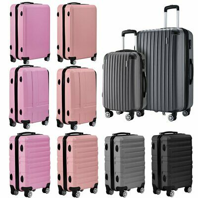 £22.99 • Buy Hard Shell PC+ABS Suitcase Travel Luggage Cabin Large Trolley Case 20 24 28