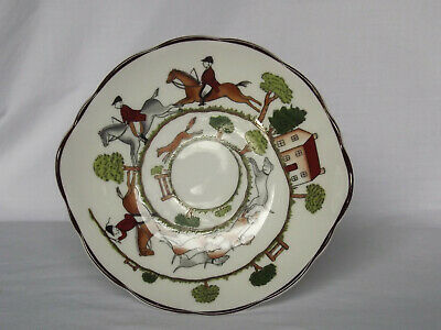 Coalport Hunting Scene - Candy Dish - 160mm • 7.75£