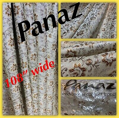 "Panaz, Soft Furnishing Fabric, 108"" Wide‼️by The Metre. • 9.99£"