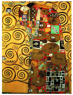 $ CDN76.29 • Buy Eurographics Klimt Oil Painting Satisfied 1000Adult Stress Relief Puzzle Toy New