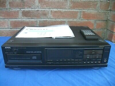 Vintage CD Player Aiwa XC002K,Remote,Instruction,100%works,Read Desciption • 64.99£