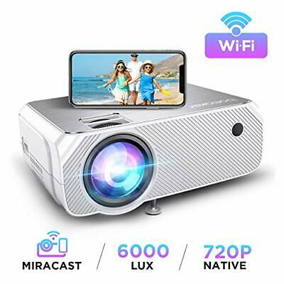 WiFi Projector, BOMAKER Wireless Screen Mirroring IPhone Android Laptops PCs • 161.99£