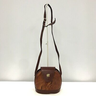 Ohay Sac Bag Small Crossbody Style Shoulder Strap Brown Vintage Casual 351539 • 6.99£