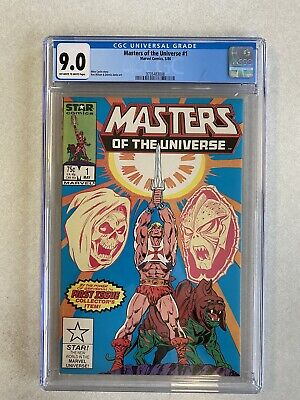 $80 • Buy Masters Of The Universe #1, May 1986, Marvel Comics, CGC Grade 9.0