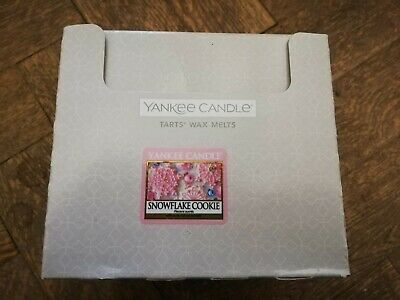 YANKEE CANDLE New Box Of 24 Wax Tart Melts (SNOWFLAKE COOKIE)  • 7.50£
