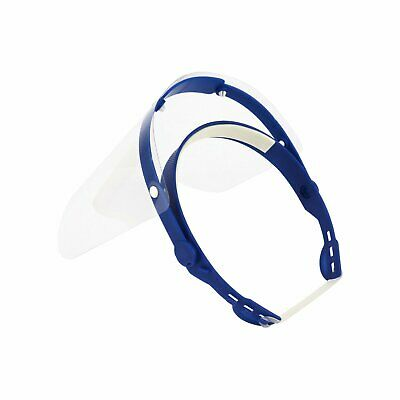 £4.99 • Buy Face Shield Full Face Visor Protection Mask PPE Shield Clear Plastic Transparent
