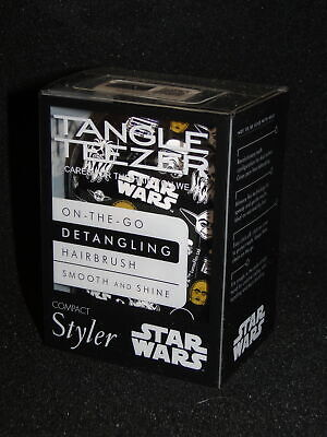 New TANGLE TEEZER Compact Styler Star Wars  Detangling Brush Compact • 4.99£