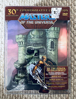$115.50 • Buy He-Man Masters Of The Universe: 30th Anniversary Collection Skeletor DVD NEW