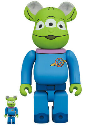 $211.37 • Buy Be Rbrick Alien 100 400 Medicom Toy Bearbrick Kaws Cowes Story Woody