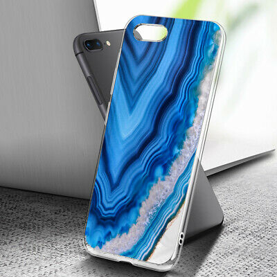 AU9.99 • Buy ( For IPhone 6 / 6S ) Art Clear Case Cover C0236 Blue Marble