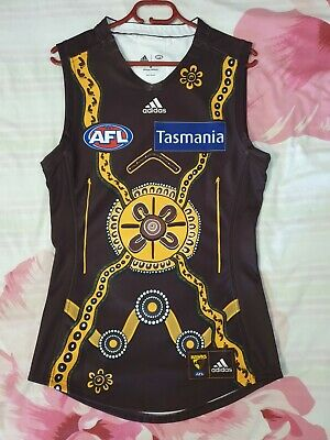 AU107.50 • Buy 2020 Player Issue James Cousins Hawthorn Indigenous Guernsey