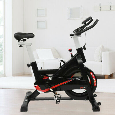 Cardio Exercise Bike Spin Bikes Flywheel Cycling Bicycle Home Fitness Training • 265.99£