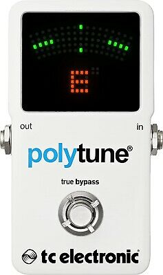 $ CDN97.76 • Buy TC Electronic Polytune 2 Full Size Polyphonic Tuner Guitar Bass Effect Pedal