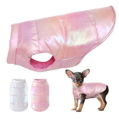 £5.99 • Buy Winter Dog Coats For Small Dogs Waterproof Warm Chihuahua Jacket Vest Clothes