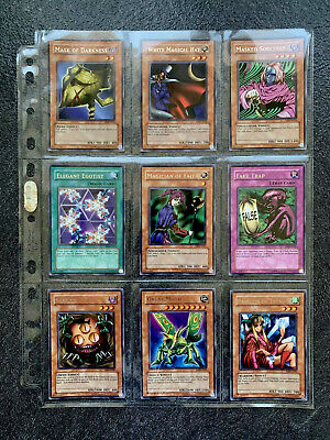 YuGiOh Metal Raiders MRD Complete Set Of Near Mint / Mint Rares - Original Print • 35£