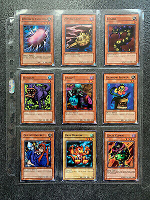YuGiOh Metal Raiders MRD Complete Set Of Near Mint Short Prints - Original Print • 25£