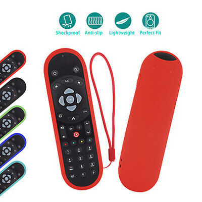 £7.98 • Buy Silicone Sleeve Cover Anti-scratches Protective For SKY Q Black Remote Control