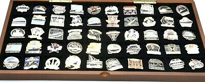Danbury Mint Titanic Ship Pin Full Collection Comes With 50 Badge & 50 COA AUCT • 67£