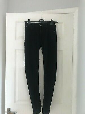 Hype Boys Skinny Jeans, Black, Size 13yr - In Great Condition. Adjustable Waist • 1.10£