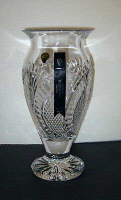 Waterford SEAHORSE 12  FOOTED VASE   NEW / BOX   Made In IRELAND • 351.62£