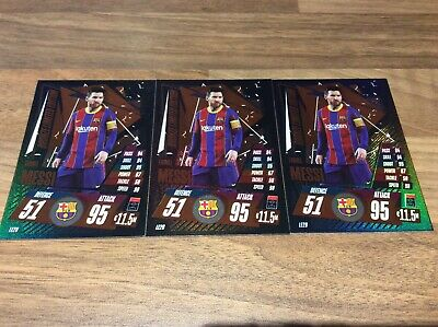 Match Attax 2020/2021 LIONEL MESSI BRONZE LIMITED All 3 • 1.99£