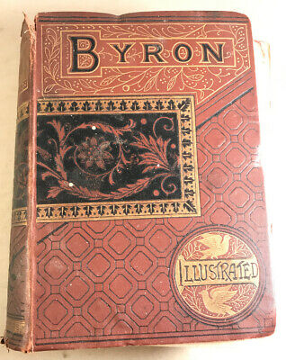 THE POETICAL WORKS OF LORD BYRON LANSDOWNE POETS Illustrated FREDERICK WARNE • 9.99£
