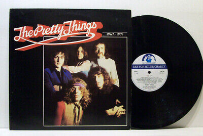 THE PRETTY THINGS 1967-1971 LP Rare Singles 60s PSYCH Freakbeat R&B Phil May • 7.50£