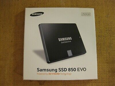 SAMSUNG SOLID STATE HARD DRIVE SSD 850 EVO New, In Box • 40£