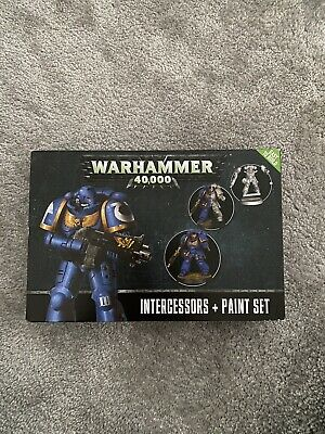 Warhammer 40k Intercessors With Paint Set New In Box • 5£