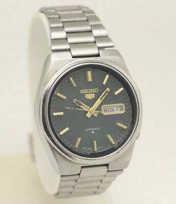 $ CDN1.28 • Buy Vintage Seiko 5 Automatic Movement No. 6309 Japan Made Men's Watch.