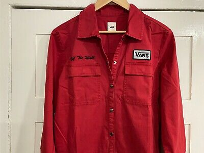 Vans All-in-One Body Suit / Jump Suit - Brand New With Tags - Red - Ladies Large • 40£
