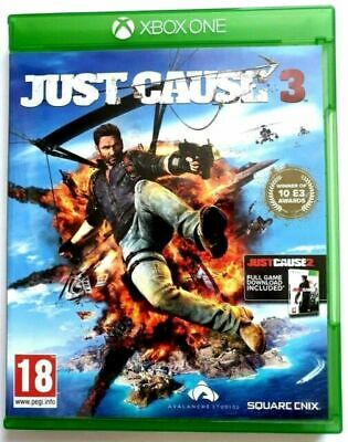 Just Cause 3 (Microsoft Xbox One, 2016) • 3£