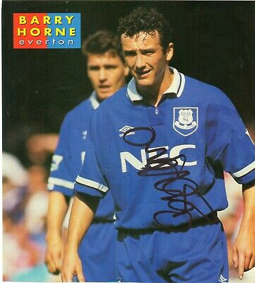 £5.99 • Buy Barry Horne (Everton) Signed Picture