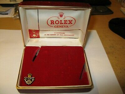 $ CDN400 • Buy Extremely Rare Vintage 40'-50's Rolex Leatherette Watch Box With Insert