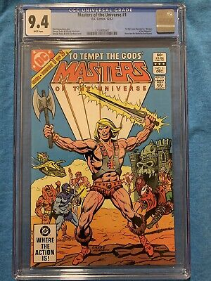$130 • Buy Masters Of The Universe #1 (1982) CGC 9.4 Graded