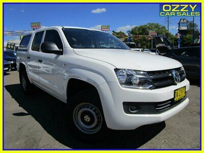 AU25950 • Buy 2016 Volkswagen Amarok 2H MY16 TDI420 (4x2) Candy White Automatic 8sp A