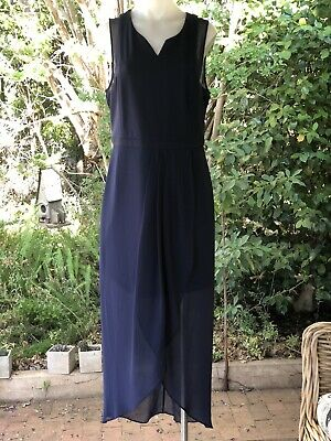 AU34.99 • Buy Forever New Navy Blue Maxi Dress Size 10-12