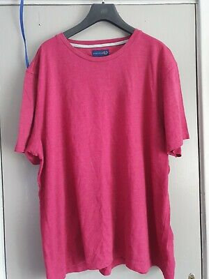 Lincoln Mens Pink T Shirt Size XXL • 2.50£