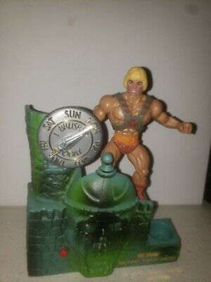 $45.99 • Buy He-Man Masters Of The Universe Talking Tooth Brush Toothbrush Holder 1984