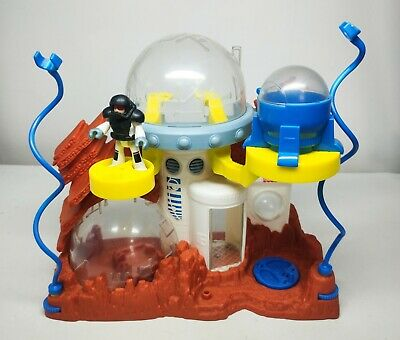 Fisher Price Imaginext Space Station Moon Base Sci Fi Toy Kids Boys Play Set • 12.99£