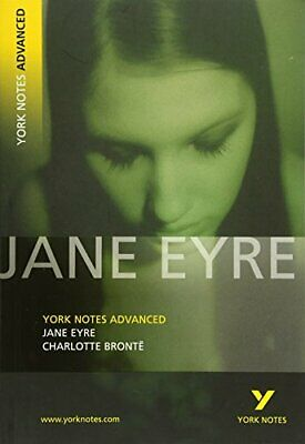 Jane Eyre: York Notes Advanced New Paperback Book • 9.12£