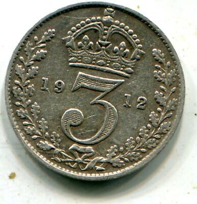 1912 Titanic Vintage Solid Sterling Silver Threepence White Star Line C093 • 1.70£