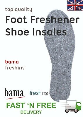 $ CDN7.34 • Buy Bama Fresh'Ins Foot Fresheners (SIX PACK) Fragranced Shoe Insoles | 6 Pairs | 5*