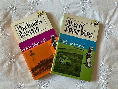 Gavin Maxwell's Famous Otter Stories Ring Of Bright Water / The Rocks Remain. • 9.99£