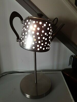 Retro Unique 1940s Kettle Table Lamp Height 53cm HANDCRAFTED   TEA SHOP OWNERS!! • 60£