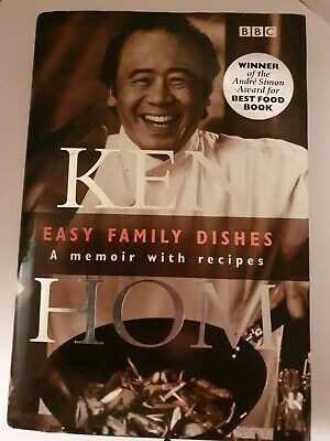 ●SIGNED● * KEN HOM * Easy Family Dishes: A Memoir With Recipes • 8.99£