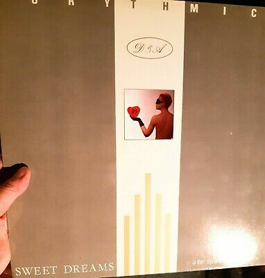 Record Lp Vinyl Eurythmics Sweet Dreams Are Made Of This • 3£