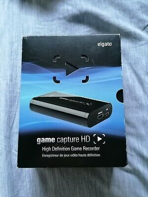 Elgato Game Capture HD Recorder USB Hdmi For PlayStation Xbox • 45£