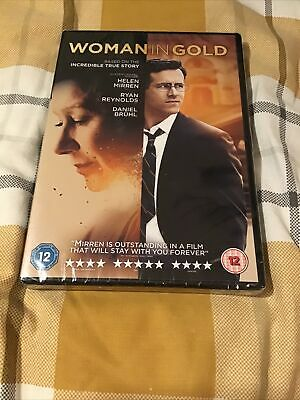 Woman In Gold DVD (2015) Ryan Reynolds, Helen Mirren, Cert 12 *SEALED* • 1.20£