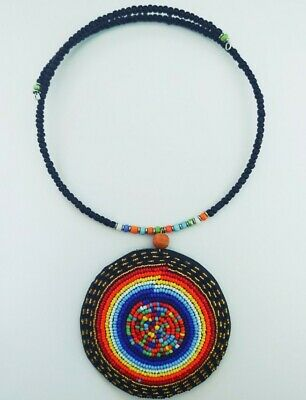 $15.50 • Buy African Beaded Maasai Jewerly  African Jewerly For Women/ Necklace Handmade/